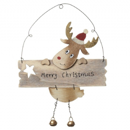 over 50% OFF Wooden Reindeer Christmas Decoration